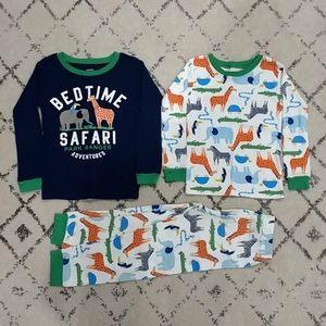 Carter's 3 pc Snug Fit Cotton Pajama Set, 5T